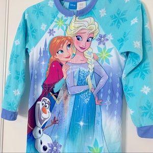 Girl pajama Frozen one piece size 7/8